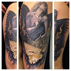 Tattoo by Randy Engelhard from the London Tattoo Convention