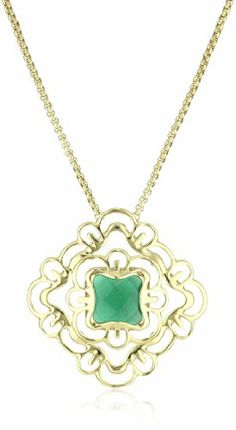 Kendra Scott Gemstone Saki Necklace