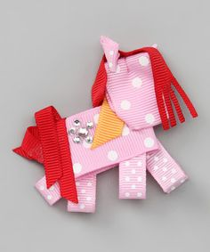 ribbon-pony for your pony-themed gifts