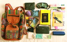 What to pack for a trip to Southeast Asia, including Bali, Indonesia, Malaysia and Singapore.