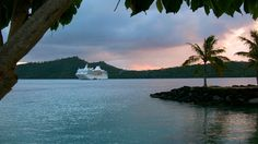 """Aboard the award-winning m/s Paul Gauguin, you'll draw close to the islands that inspired Gauguin, author James A. Michener, and so many others. Call on Huahine, the """"Garden Island"""" ... spend a day on our own private islet off the coast of Taha'a ... explore magical Bora Bora and bask on our private white-sand beach on a motu off the coast ... and discover Moorea, said to be the model for Michener's Bali Hai. #pgcruises"""