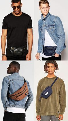 The biggest men's bag trends for autumn/winter 2017 Spring Fashion Outfits, Trendy Outfits, Bags 2017 Trends, Hipster Shirts, Men Hipster, Show Victoria Secret, Mens Fashion Week, Men's Fashion, Casino Outfit
