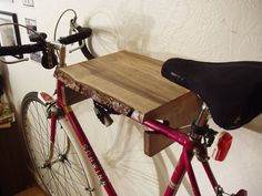 Live Edge Myrtle Indoor Bike Rack. Price reduced. by driftedge