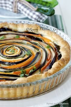 Apron and Sneakers - Cooking & Traveling in Italy and Beyond: Spiral Vegetable Ricotta Pie