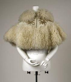 1890s cape via The Costume Institute of The Metropolitan Museum of Art