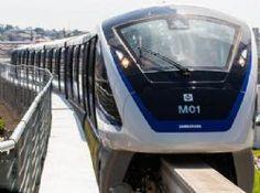 Pregopontocom Tudo: Linha 15-Prata do Metrô de São Paulo abre neste sábado...  Transportes sobre trilhos  As duas estações, Vila Prudente e Oratório, só funcionarão aos sábados e domingos e em horário restrito