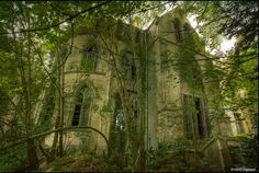 Abandoned chateau in northern France