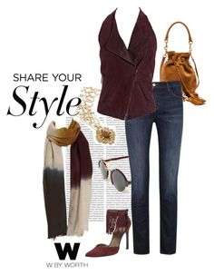 """""""W by Worth Fall 2015 - Chic Street Style"""" by lcronican ❤ liked on Polyvore"""