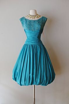 Hey, I found this really awesome Etsy listing at https://www.etsy.com/listing/251110501/fabulous-1950s-fred-perlberg-bubble-hem