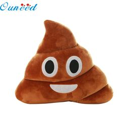 Home Wider Mini Cute Emoji Emoticon Cushion Poo Shape Pillow Doll Toy Throw Pillow Drop Shipping Poo, Doll Toys, Dolls, Cute Emoji, Textiles, Linen Sofa, Throw Cushions, Emoticon, Home Textile