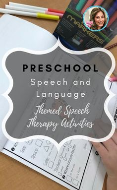 preschool speech and language bundle- has super fun themed speech therapy activities, like fishing, transportation, and zoo preschool themes! no color printer needed- aka loooove it