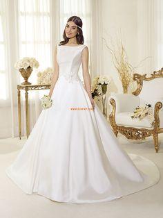 Corte Princesa Cola Capilla Natural Vestidos de novias 2014