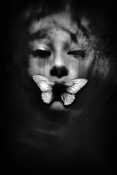 Photograph blue, my world is blue by Federico Bebber on Artistic Photography, Art Photography, Arte Obscura, Butterfly Illustration, Goth Art, Angels And Demons, Japanese Artists, Black And White Pictures, Dark Art