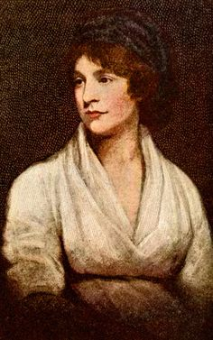 Writer Mary Wollstonecraft, stood for women's rights. She was an unwed mother & had unconventional personal life with the group 'The Romantics' and penned the famous novel 'Frankenstein. Women In History, British History, William Godwin, Mary Shelley, Historical Women, Book Writer, Badass Women, Famous Women, Scandal
