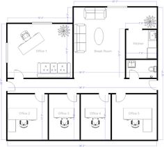 Office layout ideas for small home office