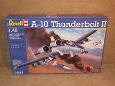 Revell A10 Thunderbolt II 1:48 Scale Model KIt Revell BNIB # 04687