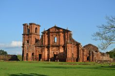 St. Michael Archangel riuins - Rio Grande do Sul, Brazil
