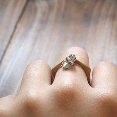 Brass Pentagon Ring