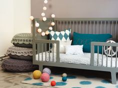 Oeuf Sparrow Bed Conversion Kit at babycubby.com click on the image to see other color options and to see the price #oeuf #toddler