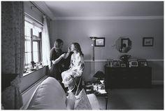Black & white portrait of bride with MUA Michelle T Make-up