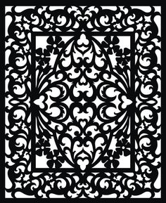 Free Scroll Saw Fretwork Patterns Crochet, Carving, Patterns. Free Scroll Saw Fretwork Patterns Stencils, Stencil Art, Scroll Pattern, Scroll Saw Patterns, Vector Pattern, Free Pattern, Motifs Islamiques, Wood Plastic, Cd R