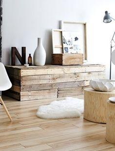Inspiration #bois - étagère