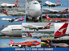Qantas Airlines, Best Airlines, Commercial Plane, Commercial Aircraft, Airplane Drone, Australian Airlines, Boeing 747 400, Air New Zealand, Civil Aviation