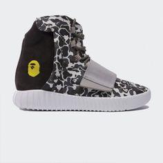 ea95bef57f6a Bape x Adidas Yeezy 750 Boost Black BB1756