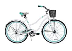 With a spring comfort seat, soft krayton grips and a sleek design, it's the ideal bike for a comfortable, stylish ride in another color palate.