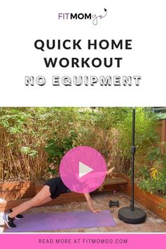 Quick At Home Workout Video #AtHomeWorkout #workoutvideo #Workoutnoequipment #quickworkout Home Workout Videos, At Home Workouts, Cardio Workouts, Workout Tips, Workout Routines, Fitness Tips, Fitness Motivation, Post Pregnancy Workout, Natural Remedies For Migraines