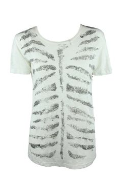 Pierre Balmain Womens Strip Pin Tee-Shirt Top « Clothing Impulse