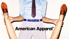 Shot in an amateur style, the adverts show young men and women, often in a state of undress wearing a particular piece of American Apparel clothing. Description from thestyleking.com. I searched for this on bing.com/images