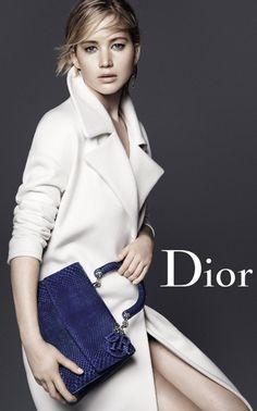 Jennifer Lawrence stars in Dior accessories fall-winter 2015 campaign
