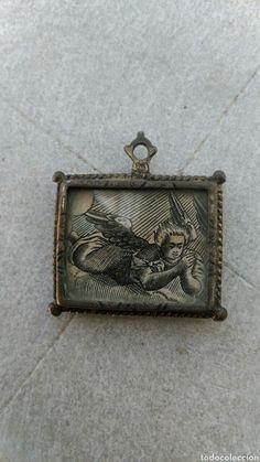 Relicario de plata siglo xvii - Foto 1 Coin Purse, Purses, Wallet, Collection, Decor, Saints, Silver Frames, 17th Century, Auction