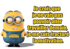 minions - Page 4 … Minion Humour, Minion Jokes, Minions Quotes, Citation Minion, Minions 4, Motivational Messages, French Quotes, Human Nature, Jokes