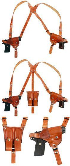 BH Custom Leather Double Gun Shoulder Holster - $250.00