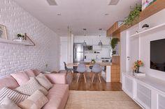Scandinavian Dining Room Design: Ideas & Inspiration - Di Home Design Condo Interior Design, Apartment Interior, Apartment Design, Apartment Living, Condo Design, House Design, Home Living Room, Living Room Designs, Living Room Decor
