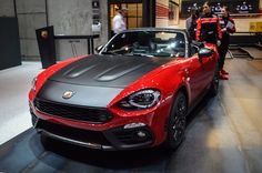 Fiat reveals hot 124 Spider and toasty Abarth 124 Spider