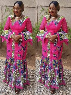 Latest Trendy Ankara Styles To Slay This Weekend Latest African Fashion Dresses, African Print Dresses, African Dresses For Women, African Print Fashion, Africa Fashion, African Attire, African Wear, African Women, Trendy Ankara Styles