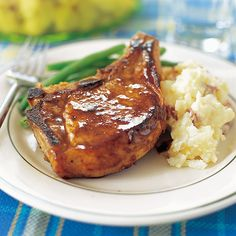 Although Bourbon tastes fine, we think it's worth purchasing the real deal — Jack Daniel's Tennessee Whiskey — for this pork chop recipe. @POPSUGAR Food
