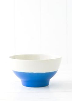 nest - contemporary, crafted homeware from around the world Breakfast Bowls, Blue Sapphire, Serving Bowls, Decorative Bowls, Nest, Tableware, Kitchen, Crafts, Home Decor