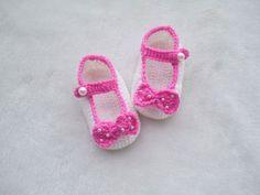 Crochet bebé zapatos