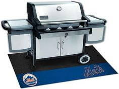 New York Mets Barbaque Grill Mat