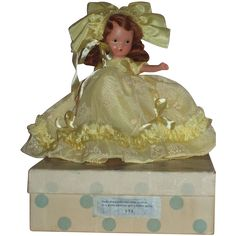 Nancy Ann Story Book Bisque Doll MIB Nursery Rhyme Series~~
