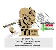 This one page pattern will allow you to create a delightful scroll saw holiday silhouettes. You can also download the free article of Silhouette Basics Article 05-WP-575 if you need detailed inst...
