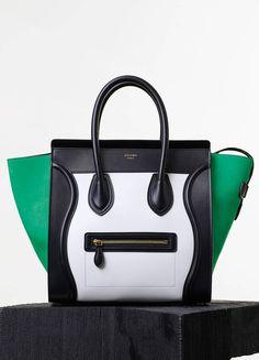 Collections Spring Summer Runway 2017 Sacs CÉline Celine Purse Mini Luggage