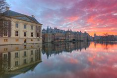 Mauritshuis and Binnenhof at Sunset by robk1964