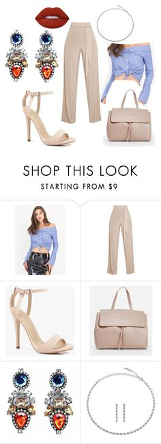 """""""working woman 6"""" by jayajav ❤ liked on Polyvore featuring Boohoo, JustFab, BERRICLE, Lime Crime, GetTheLook, WorkWear, WINDSORSTORE and embellishedsleeves"""