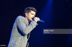 Danny O'Donoghue from The Script performs on stage in concert at O2 Arena on…