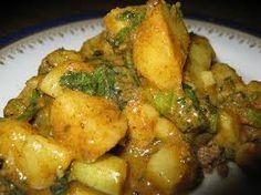 Aloo Achar (Picklely Potato) ~ #Nepali_Recipe, Yum; Another evolved recipe version here: http://NepaliAustralian.com/2012/09/12/aloo-ko-achar-nepali-style-potato-salad/